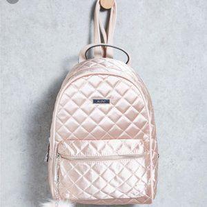 Flash sale💥ALDO Pink Quilted Satin Backpack